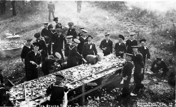 U_sailors oyster roast